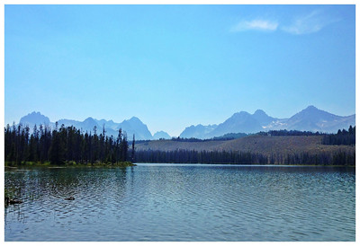 In my opinion, Redfish Lake area makes the list of one of the most beautiful places in the world.  Little Redfish Lake near Stanley, Idaho in the Sawtooth Mountains. 8.12