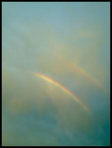 double rainbow, Idaho. 8.12