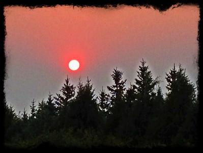 smokey sunset, idaho. 8.12