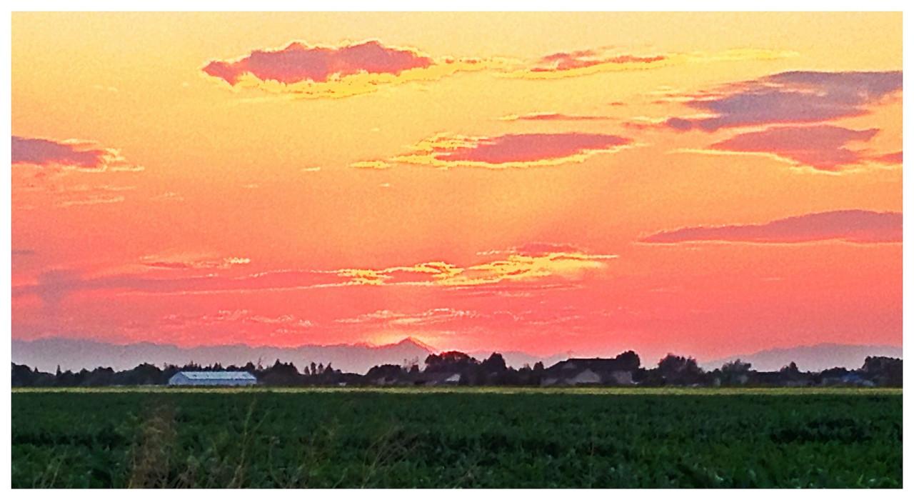 Sunset 7.11.12, near rigby idaho