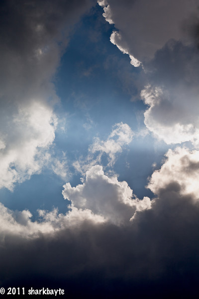 May 15, 2011-This was my other cloud shot for today.
