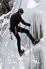 Ice climbing along Turnagain Arm.