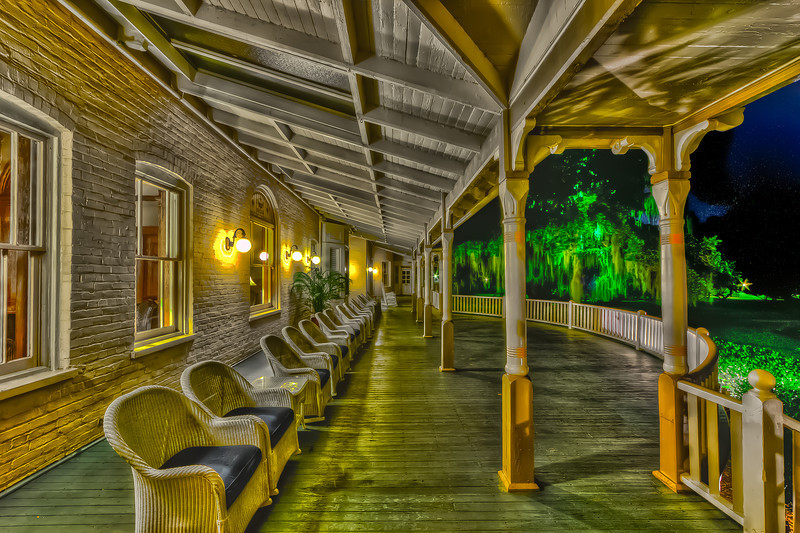 The Hotel Porch