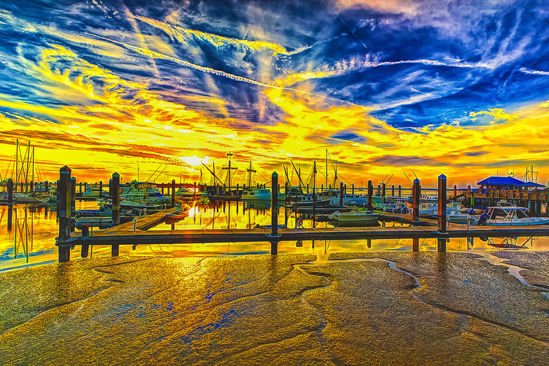 Fernandina Marina Sunset Columbus