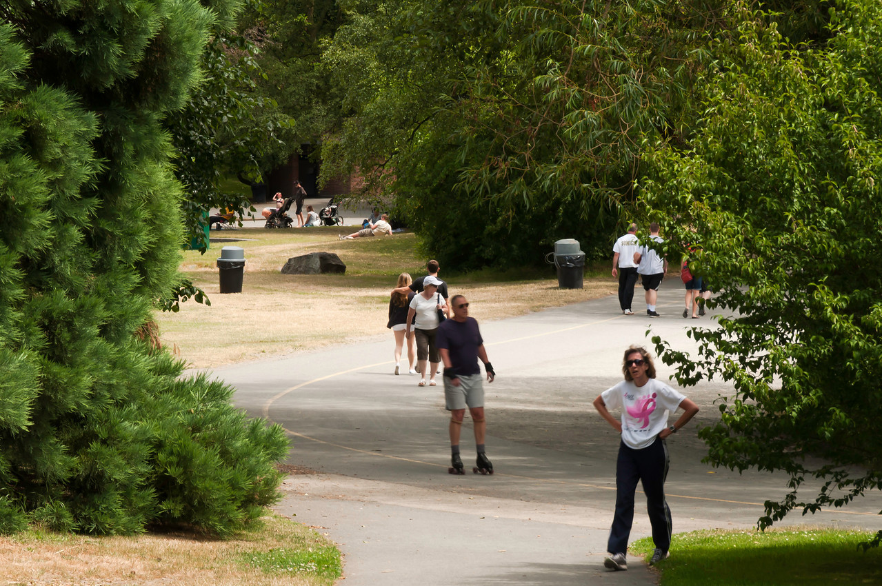 July 15<br /> <br /> Path around Green Lake