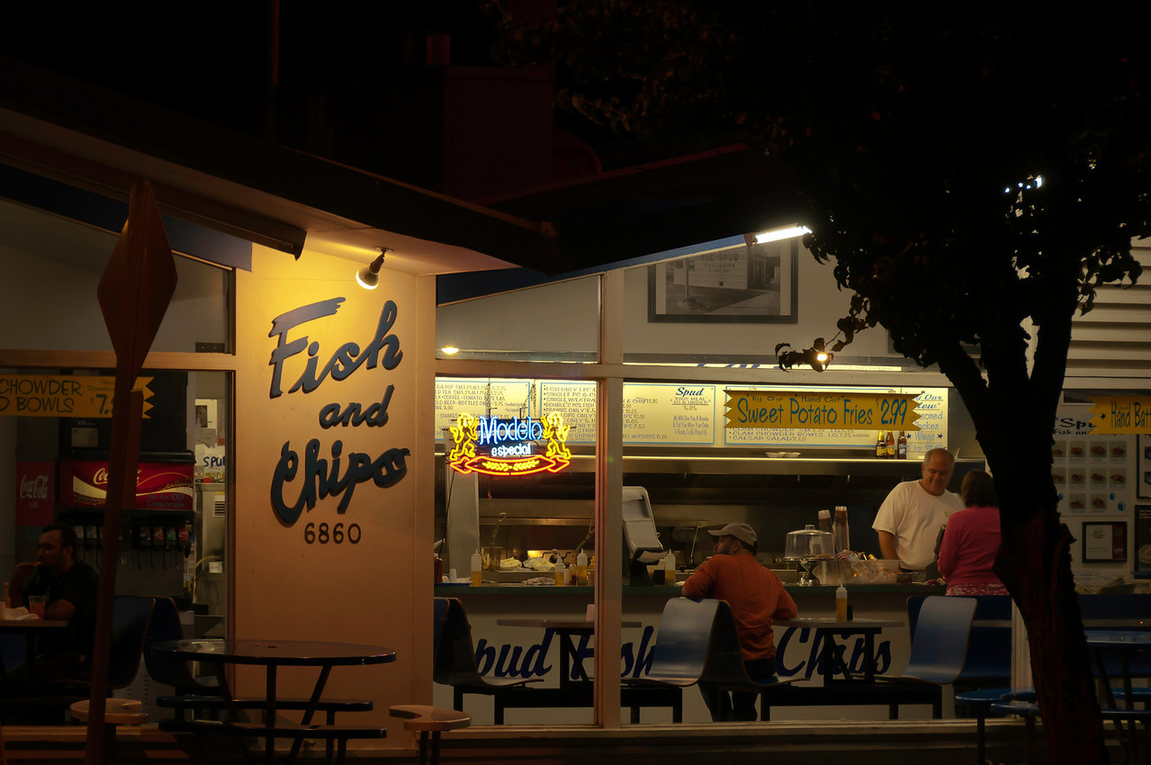 August 12<br /> <br /> Fish and Chips