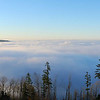 Sea of fog over Clackamas, Oregon<br /> My house is down there somewhere!<br /> 1-16-09