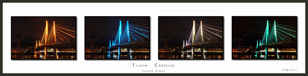 Tilikum Crossing bridge, opening in 2015, Portland Oregon