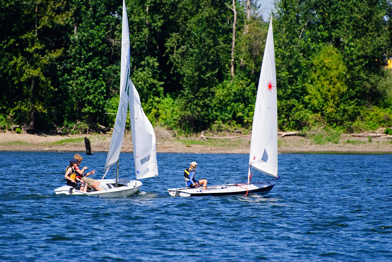8-19-11 Sailing on the Willamette River
