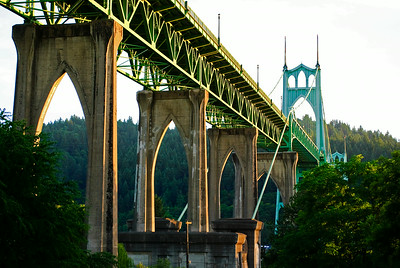 7.18.14  St. Johns Bridge