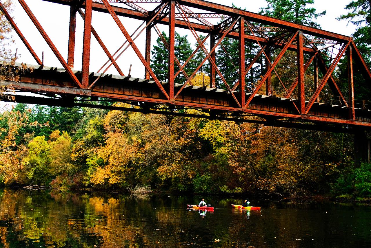 11-09-11 Autumn Kayakers Tualatin River, Ore.