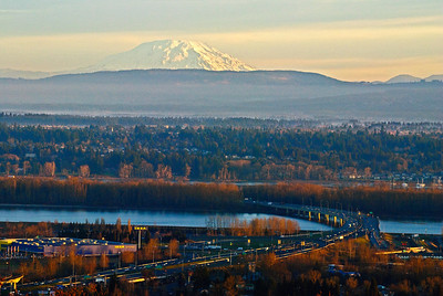 01.21.14  Mt. St. Helens at sunrise