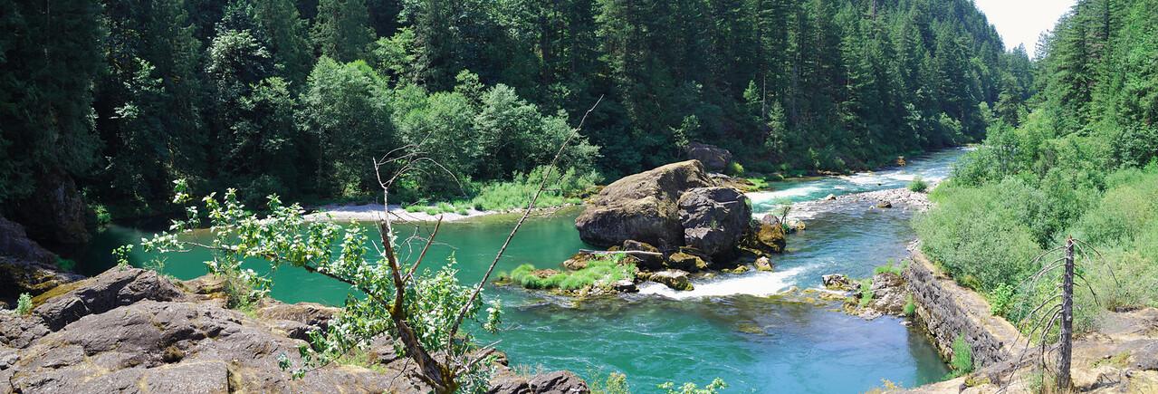 7-25-09  Niagara County Park, Oregon N. Santiam River