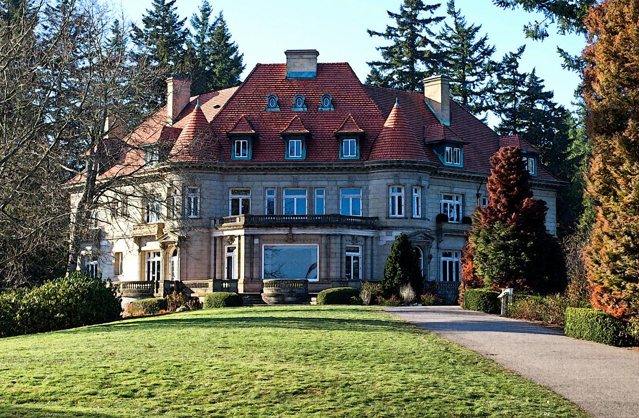 12-11-09 Pittock Mansion, Portland Oregon