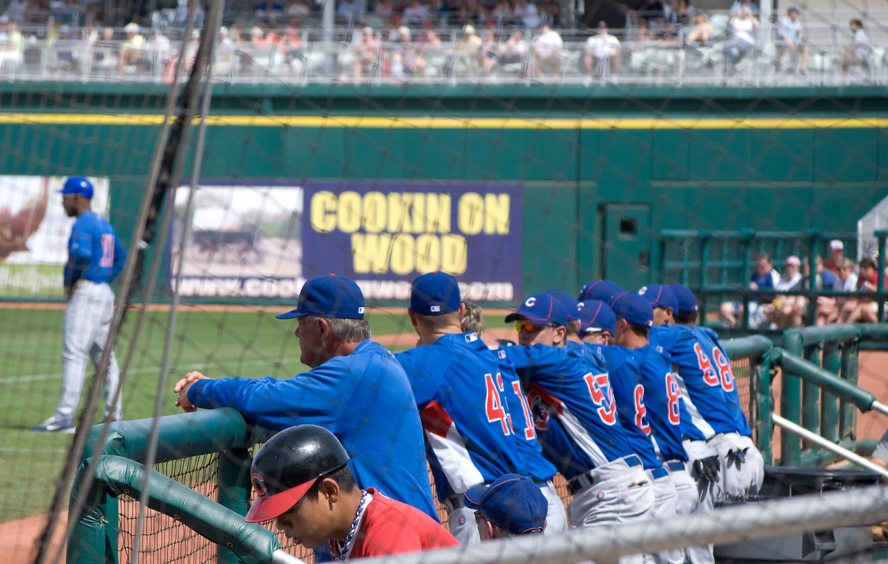 3-21-10  Lou Piniella & the Cubs  Goodyear, AZ