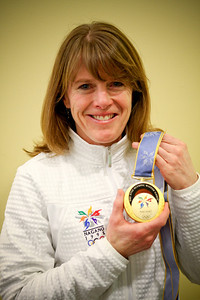 2010-02-25  Lisa Brown-Miller - a real Olympic Gold Medal winner from 1998 in Nagano.