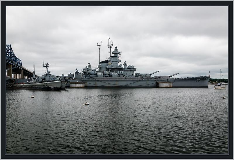 """""""Big Mamie"""" Battleship - USS Massachusetts (BB-59)"""