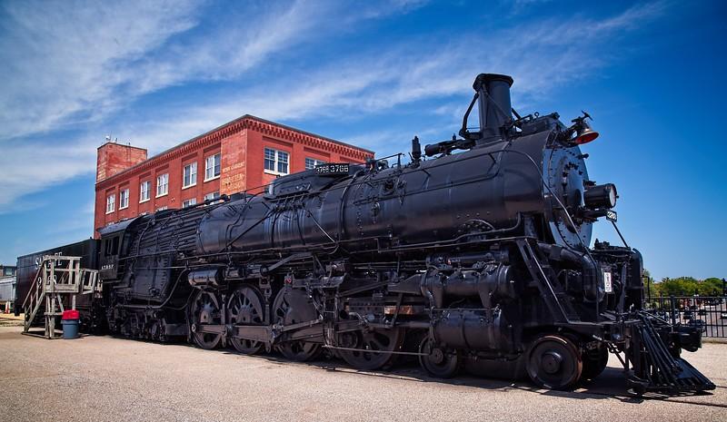 Steam Locomotive 3768
