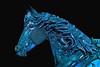 Horse in Blue