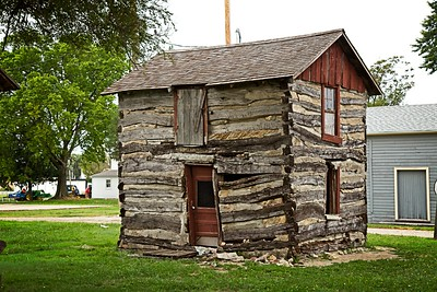 Two Story Log Cabin