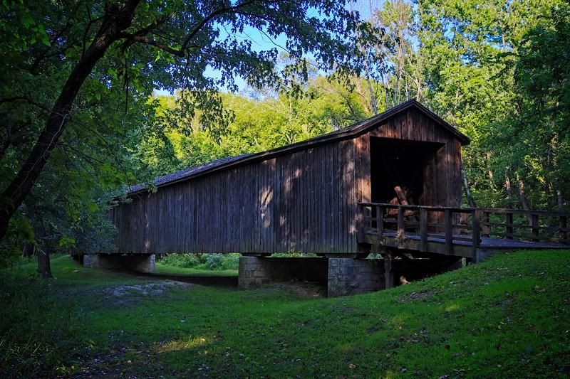 Rick's POTD - Locust Creek Covered Bridge
