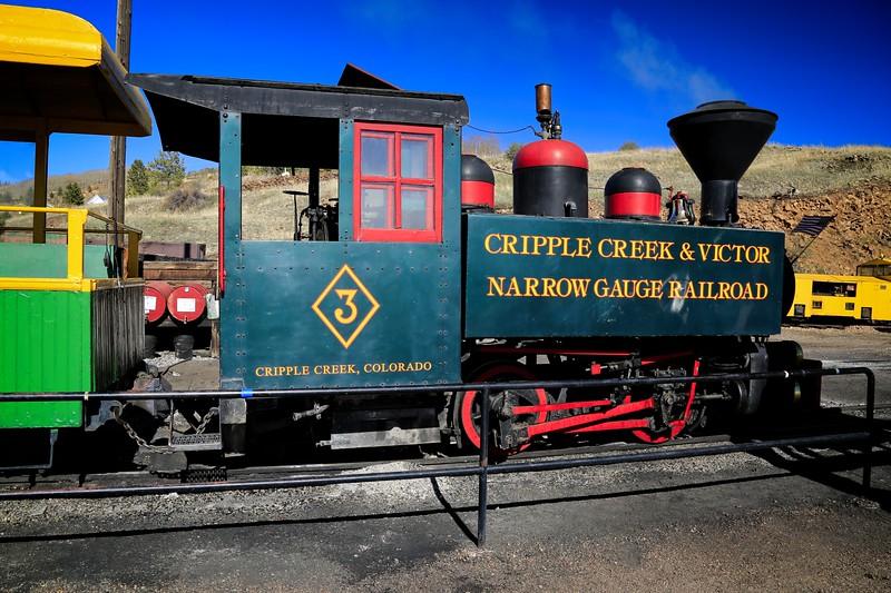 Cripple Creek & Victor Narrow Gauge Railroad