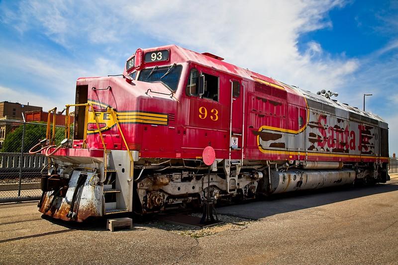 Santa Fe Diesel Locomotive #93