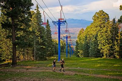 Ski Run Opposite the Sandia Peak Tramway