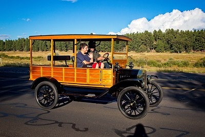 Old Ford Model-T Woody