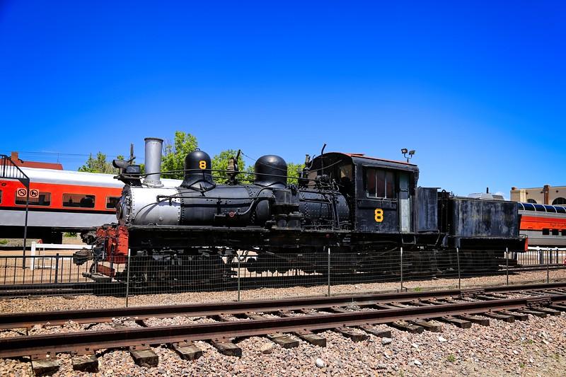 Locomotive No 8