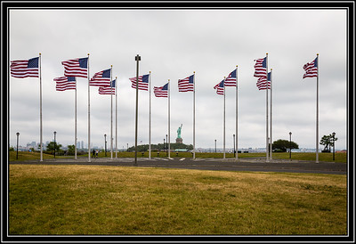 Liberty State Park - Flag Day