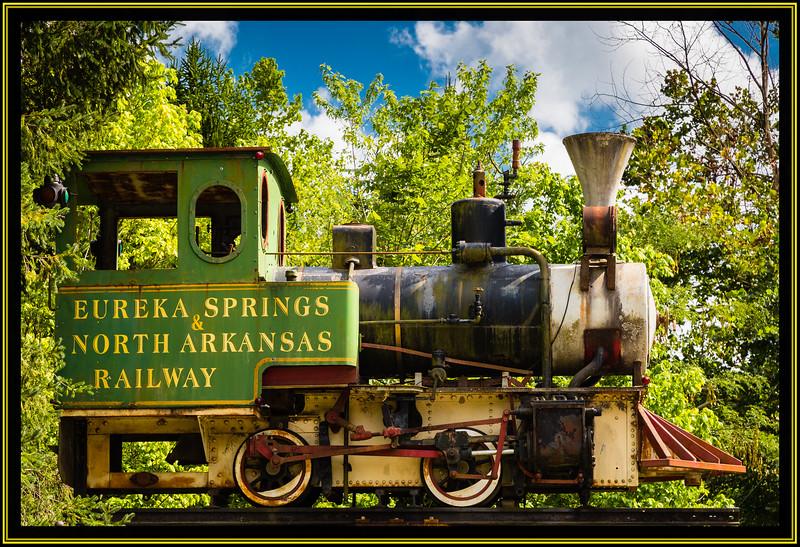 Steam Locomotive 0-4-0