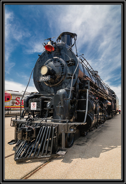 Steam Locomotive 3768