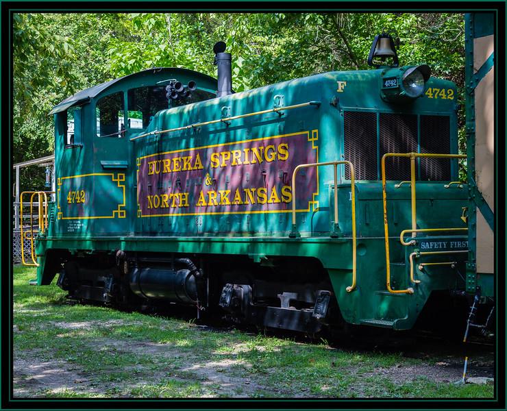 Eureka Springs & North Arkansas Railway Locomotive 4742