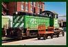 Burlington Northern Diesel Locomotive #421
