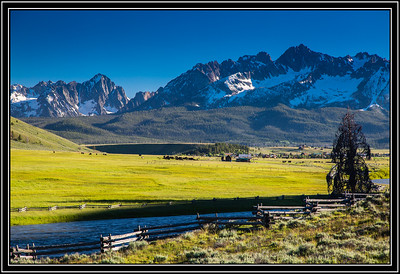 Sawtooth Mountains View