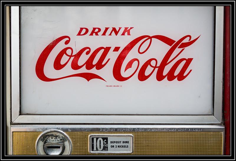 Coke 10¢ a Bottle