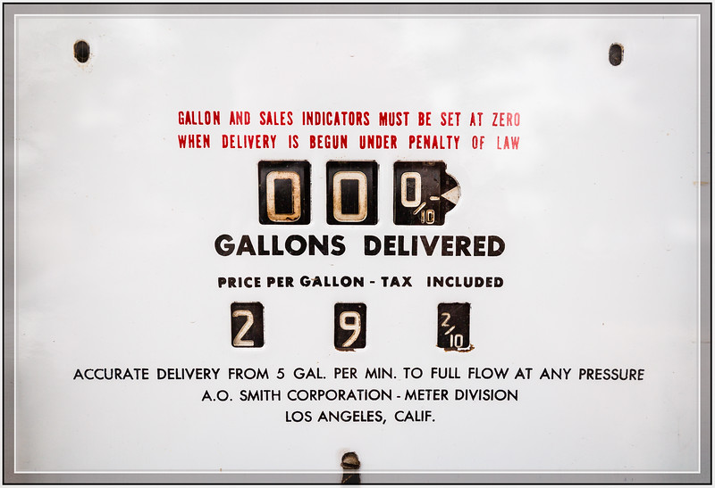 Gas Less than 30¢ a Gallon