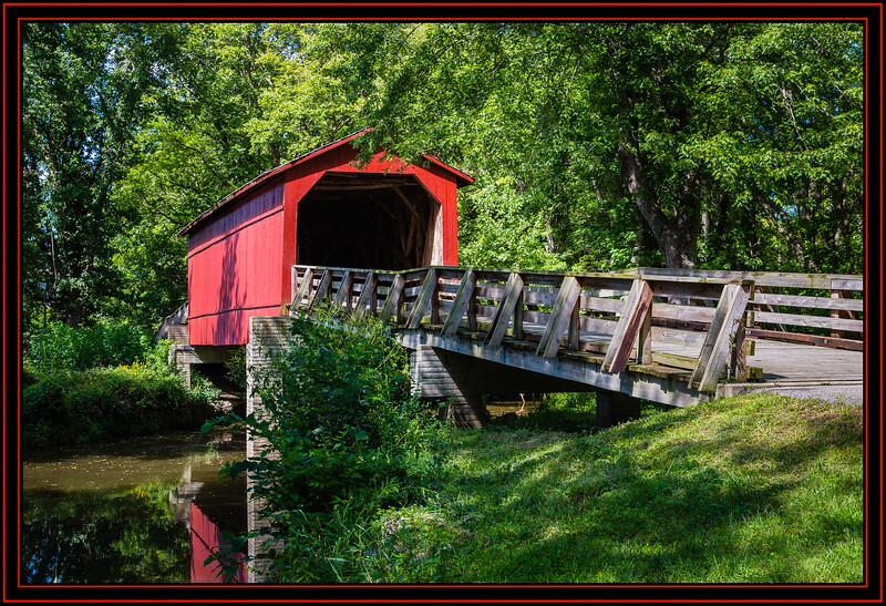 Sugar Creek Covered Bridge