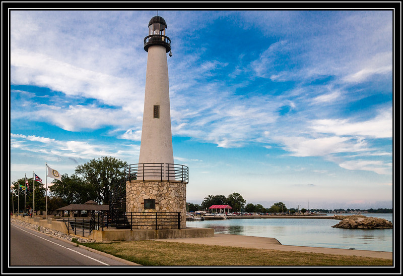"""St. Marys Lighthouse, also known as the """"Northwoods Lighthouse"""" and Grand Lake Lighthouse"""