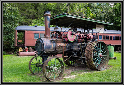 1916 Farm Steam Traction Engine