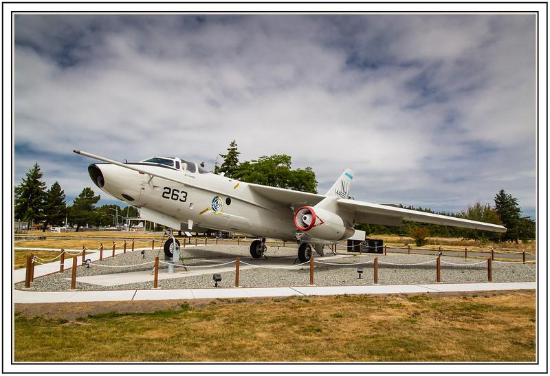 Douglas NRA-3B Skywarrior 263