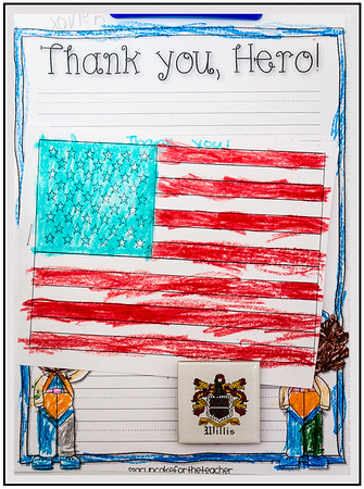 Xavier's Art for Veterans Day