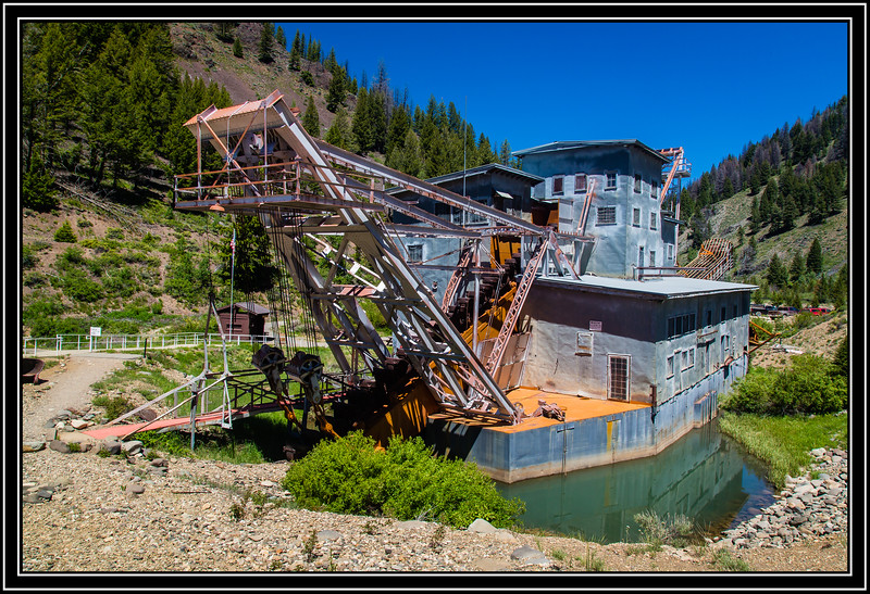 Yankee Fork Gold Dredge