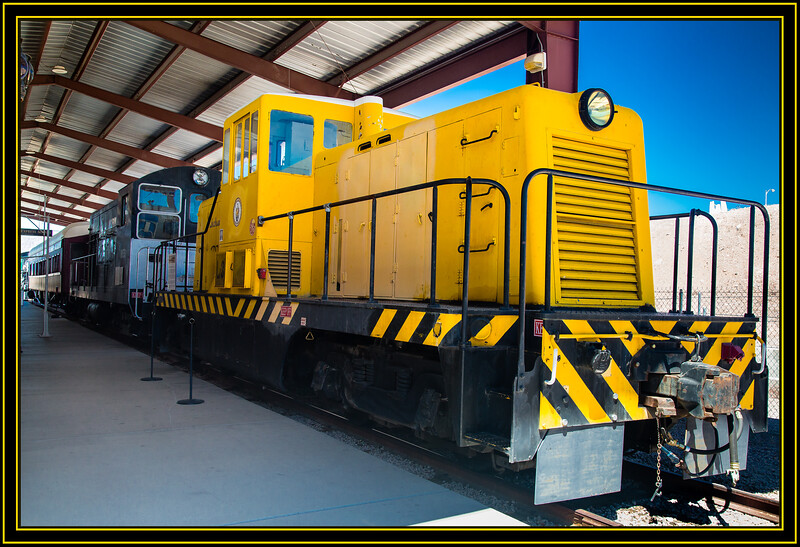 Jackass & Western Railroad Locomotive 31827