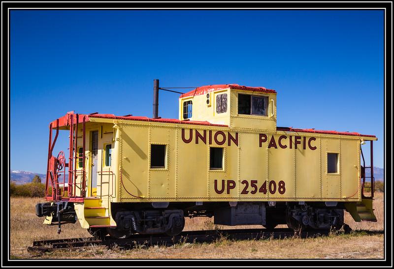 Caboose UP 25408