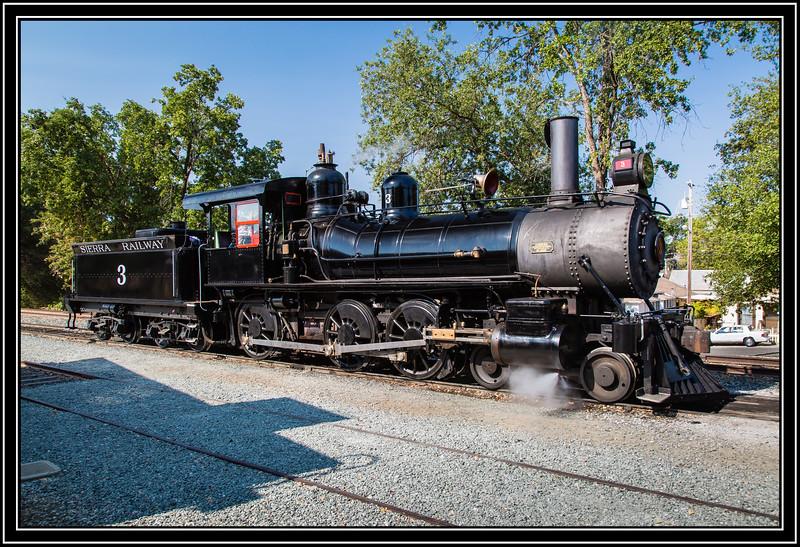 Steam Locomotive No. 3