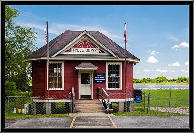 Old Fort Jackson Tybee Depot