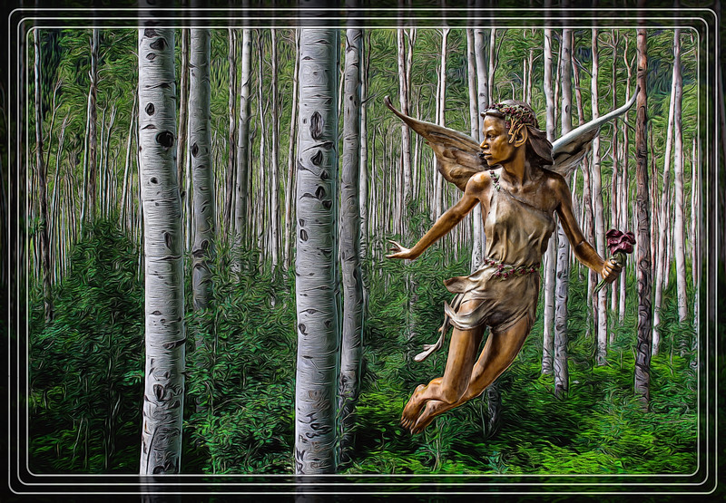 """Sculpture - """"Voice of the Forest"""""""