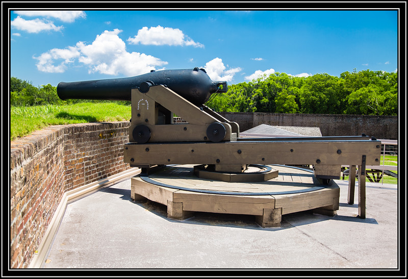 Old Fort Jackson - Cannon